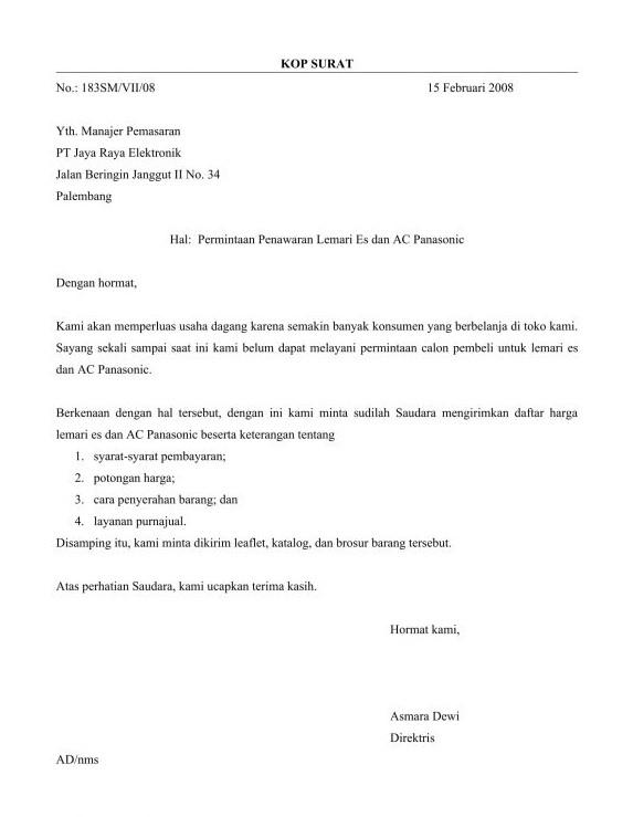 surat penawaran 4