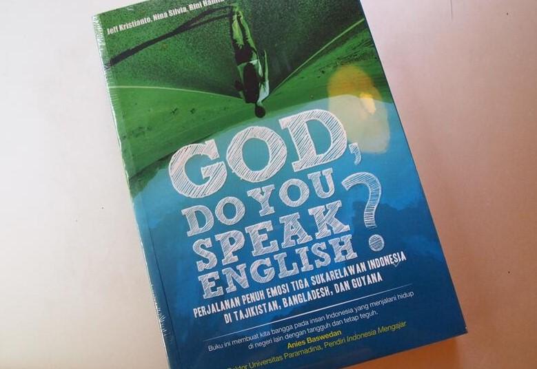 Buku god do you speak english