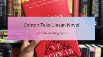 Contoh Teks Ulasan Novel Dan Strukturnya